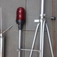 Instalação para raio